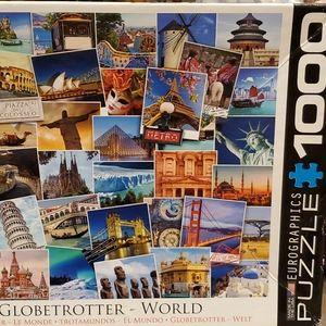 Globetrotter World Puzzle